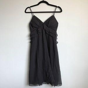 Rebecca Taylor SILK 0 XS black cocktail dress